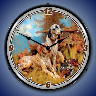 Hunting, Fishing, Wildlife LED Lighted Clocks