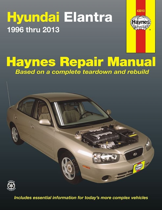 Hyundai Elantra Repair Workshop Manual 1996