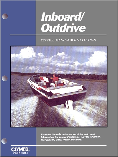 Inboard, Outdrive Service Manual - 6th Edition