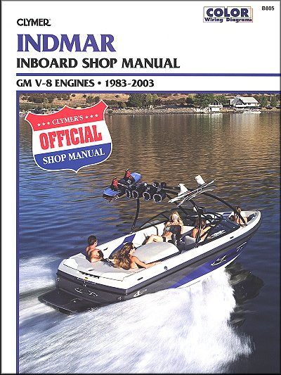 Indmar Inboard Repair Manual GM V-8 Engines 1983-2003