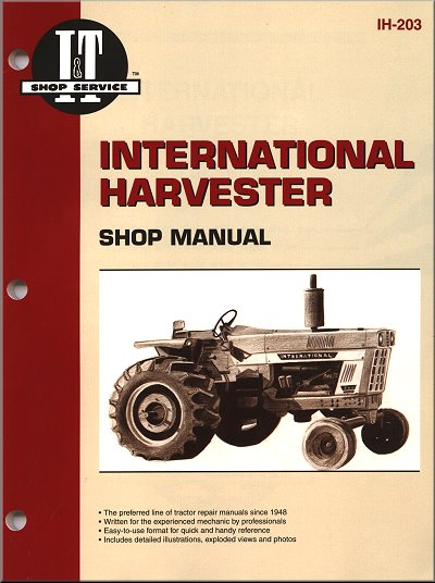 International Harvester Tractor Repair Manual Gas  U0026 Diesel