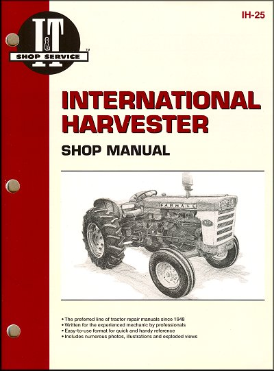International Harvester Tractor Repair Manual 460, 560, 606, 660, 2606