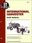 International Harvester Tractor Repair Manual Model 600, 650