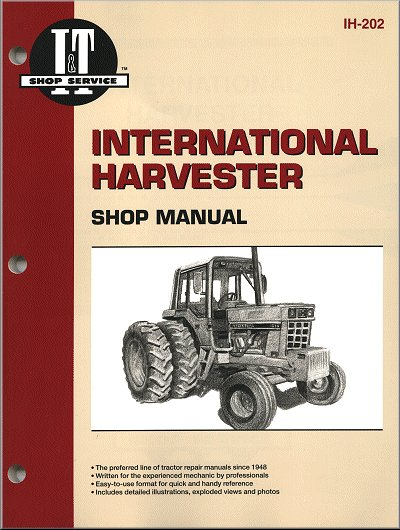 International Harvester Tractor Repair Manual Series 544, 656, 666, Hydro, 1466, etc.