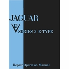 Jaguar V12 Series 3 E-Type Repair Operation Manual