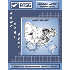 Jeep, Dodge 46RE / 47RE / 48RE Transmission Rebuild Manual 1994 & Up