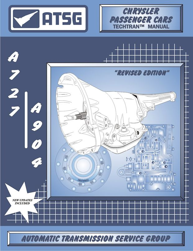 Jeep Dodge Torqueflite A727 / A904 Transmission Rebuild Manual 1962-2002
