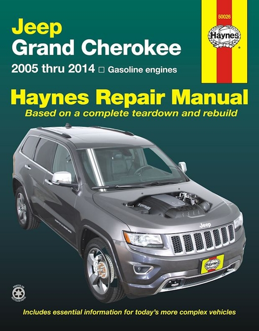 jeep grand cherokee repair service manual 2005 2014 haynes rh themotorbookstore com jeep grand cherokee service manual 2005 wk jeep grand cherokee service manual