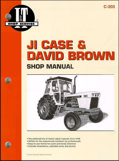 ji case david brown repair manual 770 780 870 880 rh themotorbookstore com John Deere Tractor Wiring Diagrams Farmall Tractor Wiring Diagram