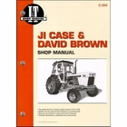 JI Case & David Brown Repair Manual 770, 780, 870, 880, 970, 995, 1070, 1175, 1200, 1210, 1212, 1270, 1370, 1410, 1570, 300, 4600