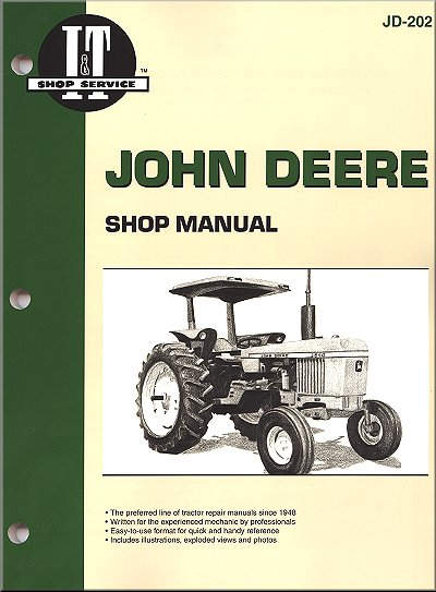 John Deere Tractor Repair Manual 2040  2510  2520
