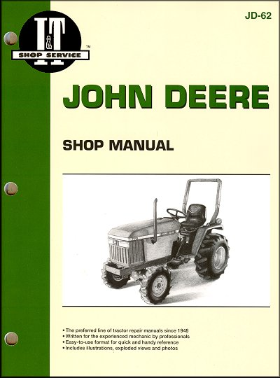 John Deere Tractor Repair Manual 670, 770, 870, 970, 1070