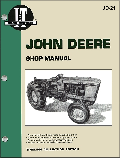 John Deere Tractor Repair Manual Model 1010 2010