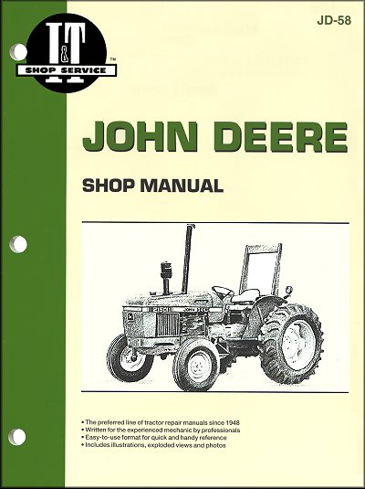 John Deere Repair Manual  2150  2155  2255  2350  2355  2355n  2550  2555