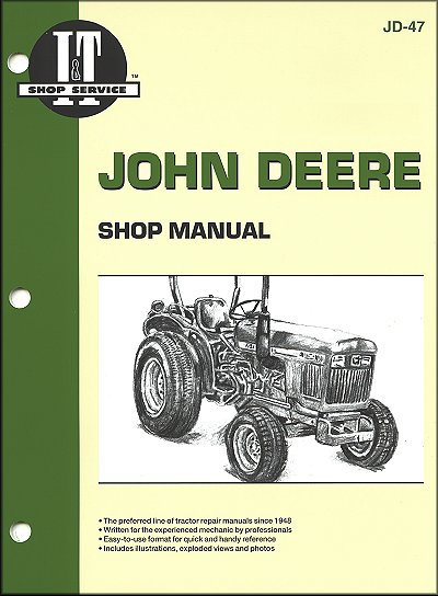 John Deere Tractor Repair Manual Series