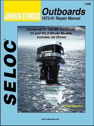johnson evinrude 60 235 hp outboard repair manual 1973. Black Bedroom Furniture Sets. Home Design Ideas