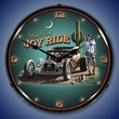 Joy Ride Wall Clock, Lighted: Larry Grossman Art