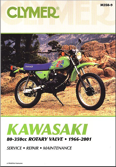 Kawasaki 80-350 Off-Road Bike Repair Manual 1966-2001 on battery diagrams, transformer diagrams, switch diagrams, motor diagrams, series and parallel circuits diagrams, honda motorcycle repair diagrams, led circuit diagrams, internet of things diagrams, electrical diagrams, electronic circuit diagrams, pinout diagrams, friendship bracelet diagrams, troubleshooting diagrams, hvac diagrams, engine diagrams, smart car diagrams, sincgars radio configurations diagrams, lighting diagrams, gmc fuse box diagrams,