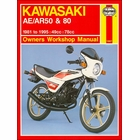Kawasaki AE50, AE80, AR50, AR80 Repair Manual 1981-1995