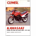 Kawasaki EX500, GPZ500S, Ninja 500R Repair Manual 1987-2002