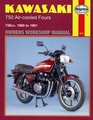 Kawasaki GPZ750, KZ750, Z750, ZX750 Repair Manual 1980-1991