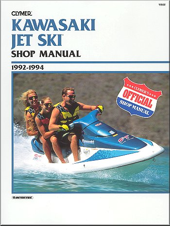 Kawasaki Jet Ski 440-750 Repair Manual 1992-1994