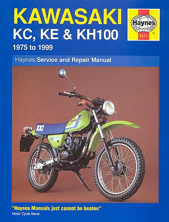 kawasaki kc100 ke100 kh100 repair manual 1975 1999 haynes 1371 rh themotorbookstore com Kawasaki Motorcycle Diagrams Kawasaki ATV Wiring Diagram