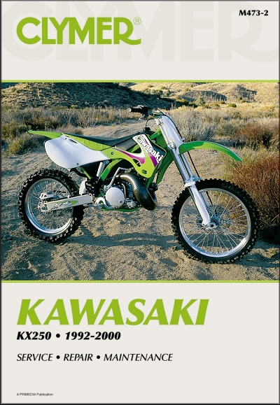 kawasaki kx250 repair manual 1992 2000 clymer rh themotorbookstore com 2003 kawasaki kx 250 repair manual kawasaki kx250 repair manual free download