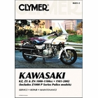 Kawasaki KZ1000, KZ1100, ZX1100, Z1100, ZN1100 Z1000 Police Repair Manual 1981-2002