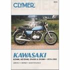 Kawasaki KZ400, KZ, Z440, EN450, EN500 Repair Manual 1974-1995
