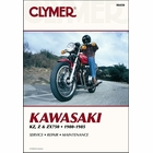 Kawasaki KZ750, Z750, ZX750 Repair Manual 1980-1985