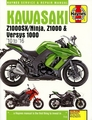 Kawasaki Ninja Z1000SX / Versys Z1000, 1000 Repair Manual: 2010-2016