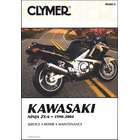 Kawasaki Ninja ZX6, ZX600, ZZ-R 600 Repair Manual 1990-2004
