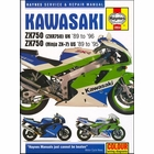 Kawasaki Ninja ZX7, ZX750, ZXR750 Repair Manual 1989-1996