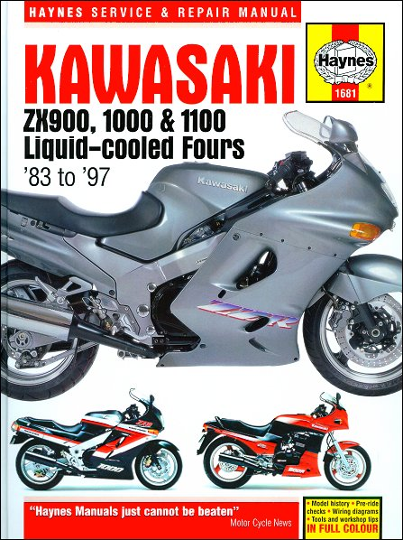 [CSDW_4250]   Kawasaki Ninja ZX900, ZX1000, ZX1100 Repair Manual 1983-1997 | Zx1000 Wiring Diagram |  | The Motor Bookstore