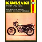Kawasaki S1, S2, S3, KH250, KH400 Repair Manual 1972-1979