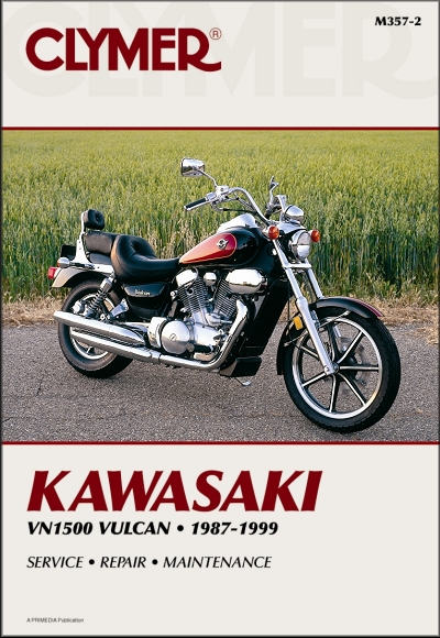 kawasaki vulcan 1500 88 vn1500 repair manual 1987 1999 rh themotorbookstore com kawasaki vn1500 service manual free download kawasaki vulcan 1500 nomad service manual