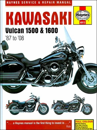 kawasaki vulcan 1500 vulcan 1600 repair manual 1987 2008 28 kawasaki vulcan 1500, 1600 repair manual 1987 2008 haynes 4913 Vulcan 1600 Classic at crackthecode.co