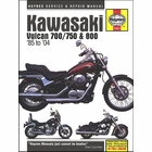 Kawasaki Vulcan 700, 750, 800 Repair Manual 1985-2004