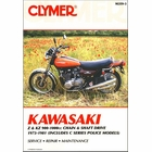 Kawasaki Z1, KZ900, KZ1000 (incl. Police), Z1R Repair Manual 1973-1981