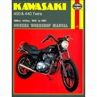 Kawasaki Z400, KZ400, Z440, KZ440 Repair Manual 1974-1981