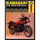 Kawasaki Z400, ZR400, KZ550, GPz550 Repair Manual 1979-1991