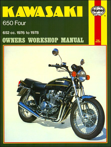 Kawasaki Z650 KZ650Repair Service Manual 1976 1978