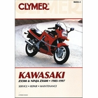 Kawasaki ZX500, ZX600 Ninja Repair Manual 1985-1997