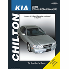Kia Optima Repair Manual: 2001-2010