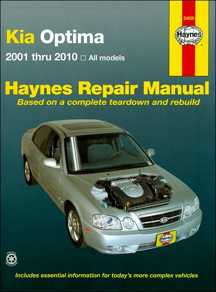 Kia Optima Repair Manual 2001-2010