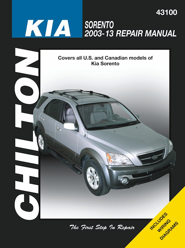 Kia Sorento Repair Manual: 2003-2013