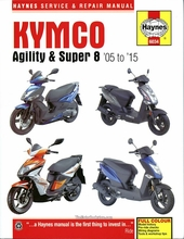 kymco agility super 8 repair manual 2005 2015 1 kymco agility and super 8 scooters repair manual by haynes 2005 2015 Kymco Super 8 150 Review at gsmportal.co