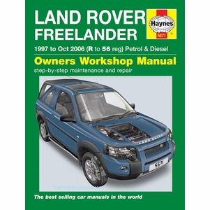 Land Rover Freelander Repair Manual: 1997-2006