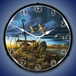 Landmark Mallards Wall Clock, LED Lighted